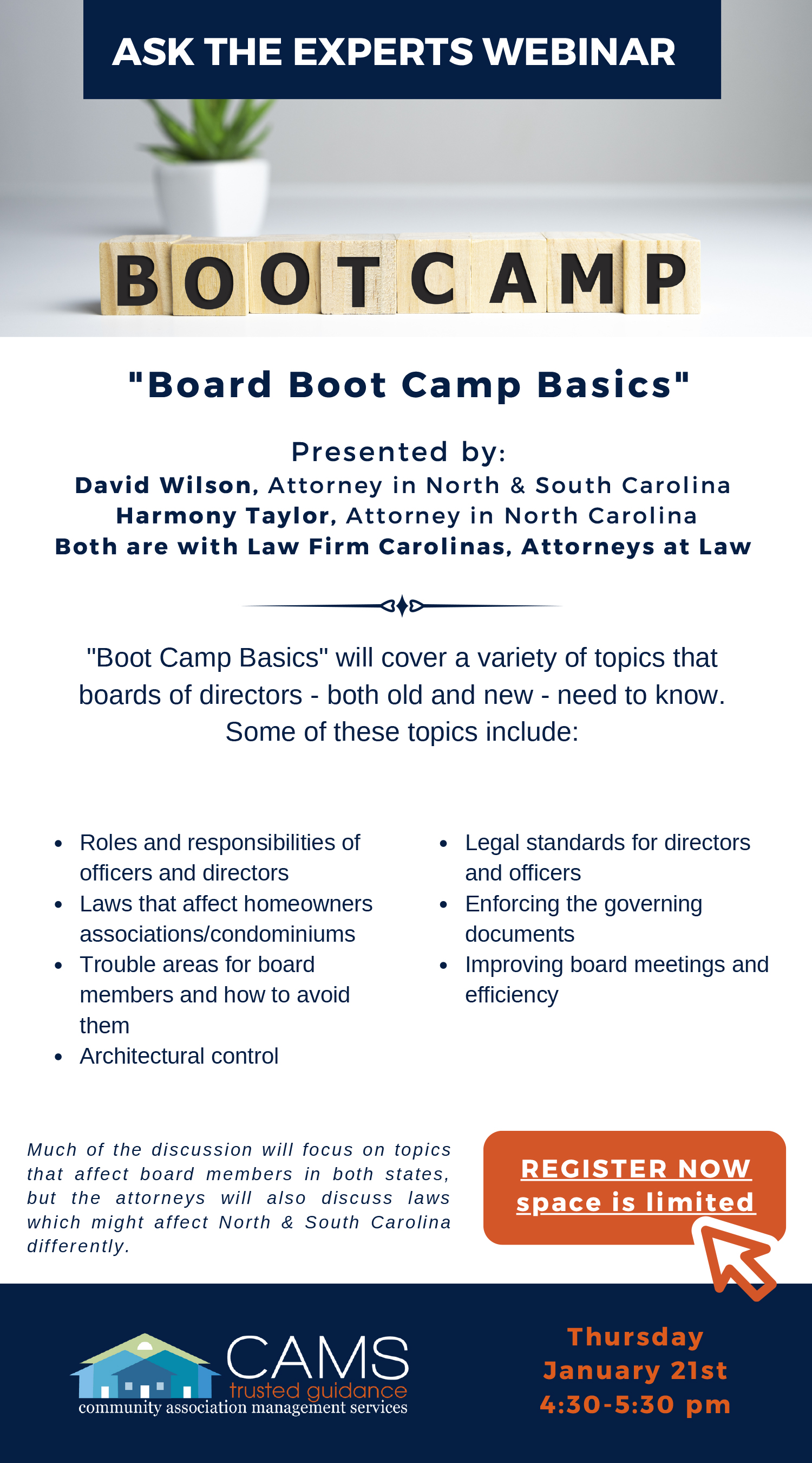 Board Boot Camp Basics