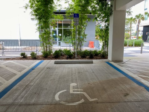 assigned handicapped space at condominium reasonable accommodation